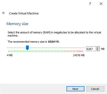 Increase memory size