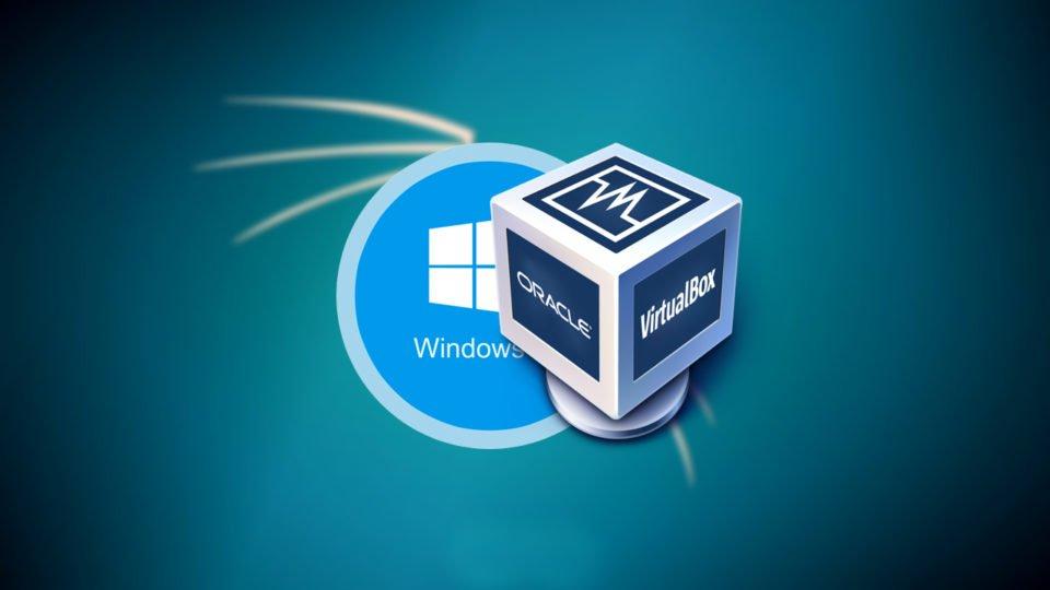 Install Kali Linux on Windows 10 using VirtualBox