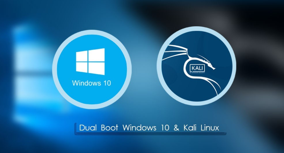 How to Dual Boot Kali Linux with Windows 10 on a single SSD Drive