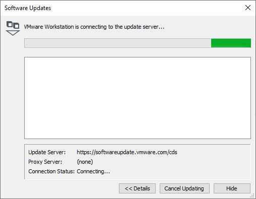 Checking for update