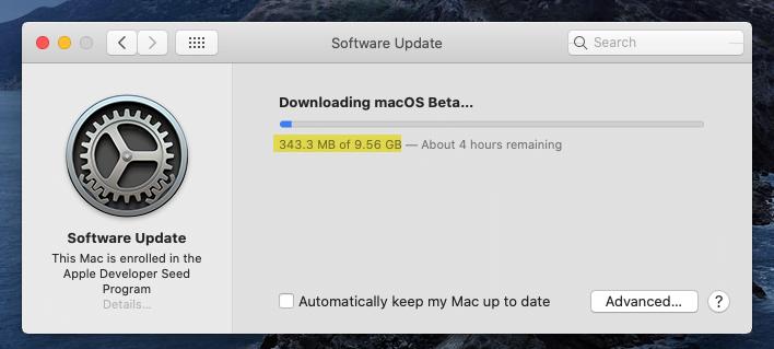 Downloading macOS Big Sur Beta version