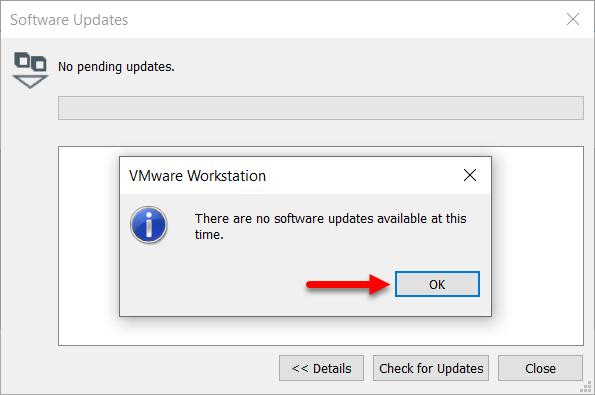 Latest update installed
