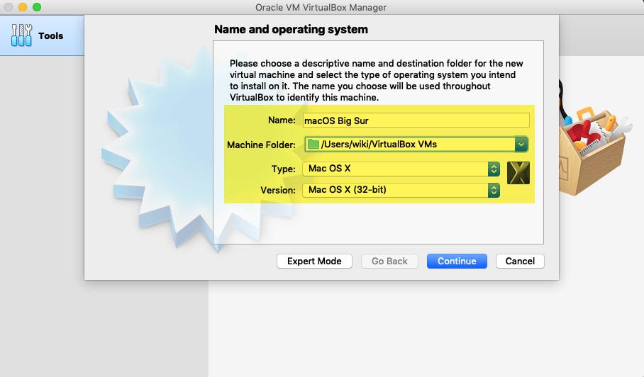 Free mac iso for virtualbox