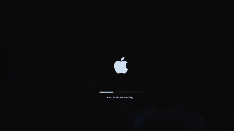 Installing macOS Big Sur
