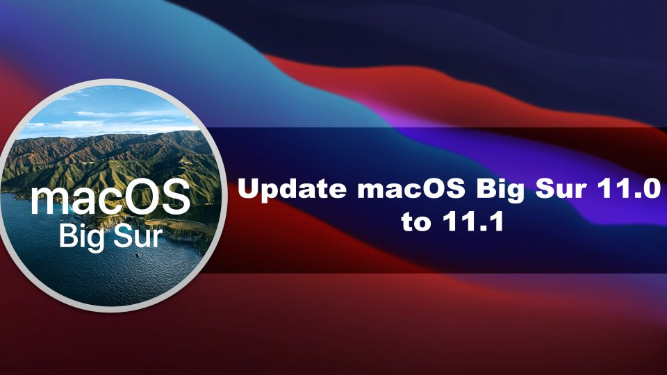 How to Update macOS Big Sur 11.0 to 11.1 on VMware on Windows