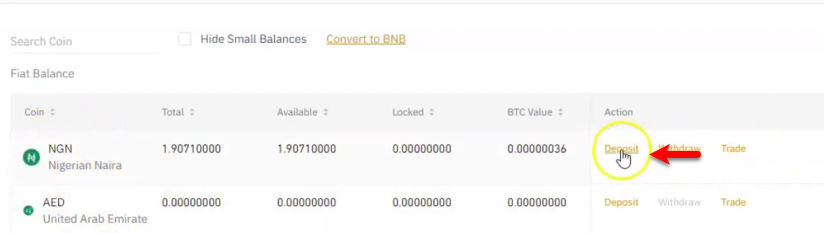 How to Deposit Money from Bank Account Into Binance