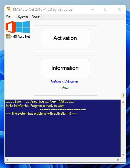 Click Activation