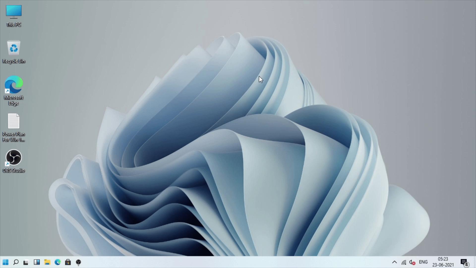 Windows 11 Small taskbar